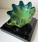 Dale Chihuly - Neptune Blue Seafoam 2011 Glass - Signed - Sold Out Edition