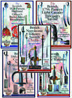 SET OF FIVE FULL COLOR SWORD BOOKLETS FOR COLLECTORS
