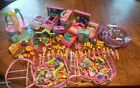 HUGE Vintage Polly Pocket Lot - Multiple Playsets, Dolls, Clothing, Accessories