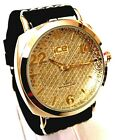 Men Casual Watch Ice Master BM1294 Black Leather Band, Dress Fashion Watch 1 ATM