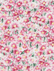 Pink Daisy Flowers Fabric Timeless Treasures C3060 Chong A Hwang
