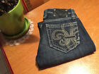 Vintage Miss Me Boot Cut Thick Stitch Denim Jeans W26 L33