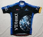 Rare Vintage Veobike World Aerospace Earth Sponsored Cycling Jersey Size Large