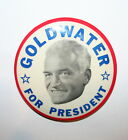 1964 Barry Goldwater vs LBJ President Campaign Button Political Pinback Pin