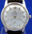 VINTAGE 1952 OMEGA SEAMASTER BUMPER AUTOMATIC SUB SECOND DIAL WATCH SERVICE 342