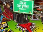 Road Show Pinball Start City Event hole protector. Protect your beloved Pin!!