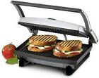 Nova Grill Sandwich Maker Non-Stick Coated Grill Plate for Easy ! Free Shipping