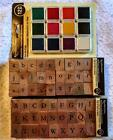 Alphabet Stamp Set Wood Recollections Upper and Lower Case New judysjemscrafts