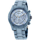 Guess Blue Dial Stainless Steel Ladies Watch W0704L2