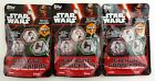 Lot of 3 Blind Packs: Topps STAR WARS Series 3 Galactic Connexions(5 discs each)