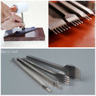 New Hot 4mm Leather Craft Tools Hole Punches Stitching Punch Tool 1+2+4+6 Prong