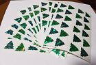 Sandylion Christmas Trees Stickers lot of 5 SHEETS 4 X 6 free shipping