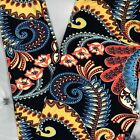NEW Paisley Floral Print Buttery Soft Leggings Blue Onesize OS Plus TC