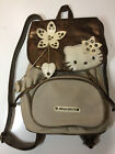 Pre Owned Hello Kitty Brown Backpack Purse