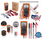 Multimeter Pocket Digital Fluke Meter Volt Tester Clamp Ohm Ac DC Rms AutoRange