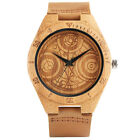 Cool Doctor Who Time Lord Seal Natural Wood Men's Boy Sport Quartz Wrist Watch