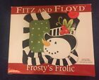 Fitz And Floyd Frostys Frolic Snack Plate With Spreader