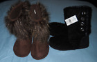 2 pair of womens boots size medium 7 8