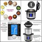 6 Qt 10-in-1 Kitchen Instant Pot Ultra Multi- Use Programmable Pressure Cooker