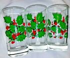 Berries Glasses Christmas Drinking Tumblers 5