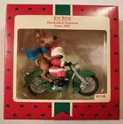 VINTAGE 1987 Hallmark Keepsake Ornament SANTA'S JOY RIDE.              A8#2