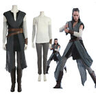 New Star Wars 8 Rey Cosplay Costume Halloween Costumes Full Suit Shoes Any Size