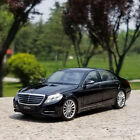 Mercedes Benz S CLASS S500 Model Cars Toys 124 Collection Alloy Diecast Black