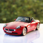 BMW Z8 Convertible Version Model Cars Toys 124 Collection Alloy Diecast Red New