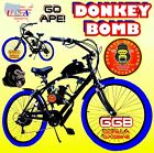 USA SELLER NEW 2018 COMPLETE DONKEY BOMB GAS 50 80 CC MOTOR  BIKE SCOOTER MOPED