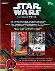 2017 Topps Star Wars High Tek Factory Sealed Hobby Box 1 AUTO