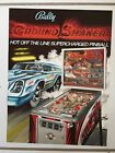NITRO GROUND SHAKER 1979 PINBALL PROMO BROCHURE-NEW PROTECTED IN PLASTIC COVER