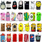 For IPhone X 8 7 6 6S Plus 5 2017 New 3D Animal Cartoon Cute Silicone Phone Case