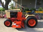 Case 220 Lawn Tractor w Mower Deck Completely Restored