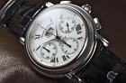 Maurice Lacroix Masterpiece Flyback MP6098 Men's Watch Annuaire Chronograph MINT
