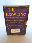 JK Rowling Classic Books From the Library of Hogwarts Very Fine