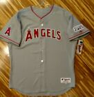 Authentic 2014 Los Angeles Angels Playoffs Jersey 54