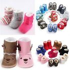 US Newborn Infant Baby Boys Girls Shoes Crib Casual Sneakers Xmas Booties Boots