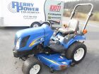 2008 New Holland T1110 HST 4x4 diesel w 60 mower HST PTO used compact tractor