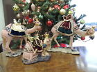 Department Dept 56 Nativity Camels Set of 3 in Original Box 39985 VERY RARE