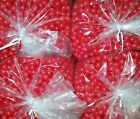 Nelson 50 Caliber Paintballs Pearl Red  Red Filled 6500 Count Below Wholesale