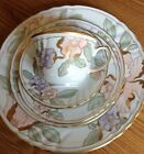 FITZ & FLOYD FLEUR FANTASIA  China Peach 5 Piece Setting #194
