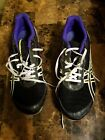 Womens Asics Hyper Rocket Girl 5 Track Spikes G154N Purple Black Lime 75 cleats