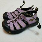 Keen Girls Size 13 Light Purple River Hiking Sandals Waterproof