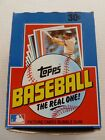1982 TOPPS BASEBALL BOX 36 PACKS - UNSEARCHED - ONE OWNER