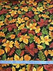 Timeless Treasures Harvest Leaves Autumn Thanksgiving Fall Fabric BT Half Yard