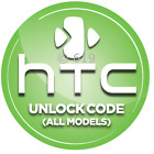 Unlock HTC One A9 M9 M7 Desire 10 Plus Evo Trophy M10 HD7 G1 Code AT