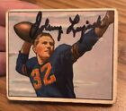 Chicago Bears 1950 Johnny Lujack signed Bowman card #26 auto COA