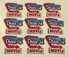 Girl Scout Drive In Movie Fun Patches
