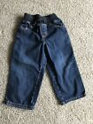 GYMBOREE Toddler Boys Jeans Size 3t Elastic Stretchy Waist PRE OWNED Free Ship