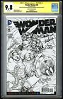 Wonder Woman #48 Coloring Variant Signed by Lupacchino, D & M. Finch! CGC SS 9.8